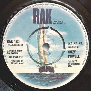 Cozy Powell  https://www.discogs.com/Cozy-Powell-Na-Na-Na/release/477375