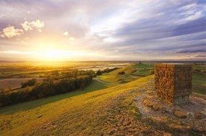 Burton Dassett Hills Country Park, South Warwickshire by Adam Edwards