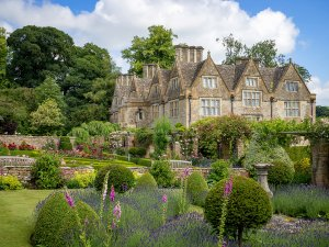 Upper Slaughter Manor Gardens, Cotswolds by Bob Radlinski