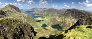Buttermere from Haystacks by Chris E Rushton