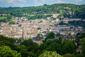 Bath, England skyline by Bob Radlinski