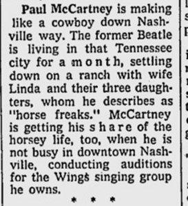 * Milwaukee Journal (June 21, 1974).