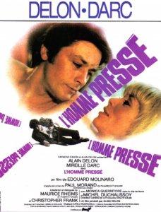 'Спешащий человек' (1977). Вот это занятный фильм о человеке, который жил почти исключительно на эмоциях, сжигая себя и окружающих. То ли грустная, но энергичная комедия, то ли веселая драма. В паре с Мирей Дарк.