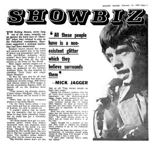 Melody Maker 18 February 1967