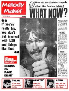 Melody Maker 2 September 1967