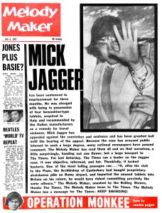 Melody Maker 8 July 1967