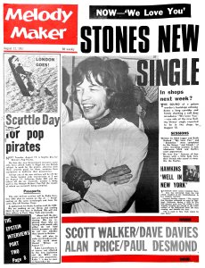 Melody Maker 12 August 1967