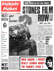 Melody Maker 26 August 1967