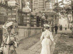 Редкое фото. Одесса, ул. Гоголя конец 19, начало 20 века.