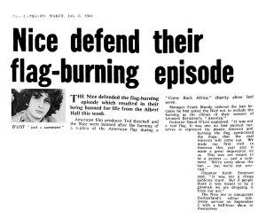 Melody Maker 6 July 1968