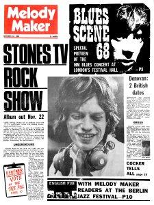Melody Maker 16 November 1968