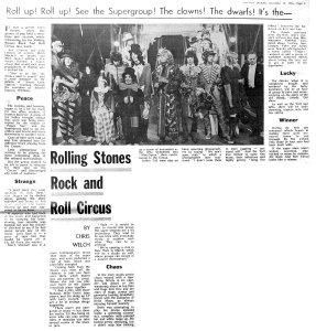 Melody Maker 21 December 1968