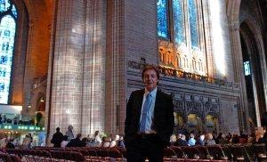 1 мая 2008, Пол на ливерпульской премьере Ecce Cor Meum.