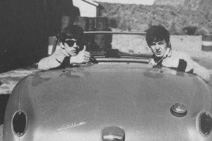 май 1963 Джордж, Пол и Ринго отдыхают на Канарах