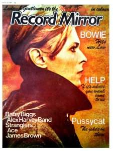 Record Mirror 22 January 1977  Сделал пост у себя в ЖЖ. Там больше.