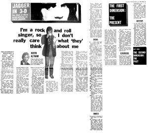 Melody Maker 15 March 1969