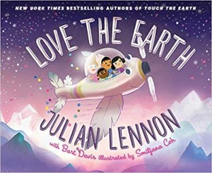 Julian Lennon on his new children's book 'Love the Earth' and the magical and heartwarming story behind becoming an author and activist