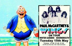 15 мая 1973 Пол и Wings выступают в Bournemouth Winter Gardens.