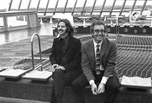 16 мая 1969 Ринго Старр с Питером Селлерсом