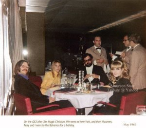 16 мая 1969 на борту лайнера Queen Elizabeth-II