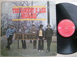 LP Robert E. Lee Brigade - Far Enough (Columbia, 1970, Ca). Несмотря на звучное название, довольно проходная и эклектичная компания, сочетающая каверы и собственные треки, но так и не определившаяся с собственным стилем. Среди скучноватых версий на сочинения других авторов, неплохо получилась дилановскаяBallad Of A Thin Man и, непонятно-что-сотворенное с битловской And I Love Her - такое впечатление, что играют что-то свое, одним им ведомое, прикрывшись авторством известного дуэта Дж.Л. - П.М.К.- (примерногде-то с 29:45)... Среди собственных сочинений довольно неплохо выглядят три вещи подряд, начиная с 14 минуты - Certain Tears, Merry-Go-Round, Cycle... Если бы продолжали в том же духе, глядишь, еще однимиThe Hollies стало бы больше!