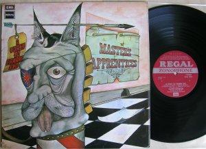 LP Master's Apprentices – A Toast To Panama Red (Regal Zonophone, 1972, UK). Несмотря на смены стилей и меняющийся состав, пожалуй, одна из лучших австралийских групп, каждую из пластинок которых отличает высокий уровень и интересные идеи! Тост... - последний альбом группы (кстати, записан в студии на Abbey Road) - это великолепно исполненный гитарный прог, захватывающий от начала и до конца. Классика!