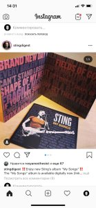 Обзор: Sting My Songs