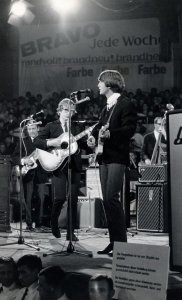 Peter & Gordon на разогреве Битлз во время немецких гастролей, Circus Krone Bau  24 июня 1966.
