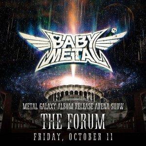 Babymetal 11 октября выпускают новый альбом Metal Galaxy и отправляются в мировой тур. Заедут и в Великую Россию. 28 февраля 2020 группа выступит в Санкт-Петербурге (М1), а 1 марта на Adrenaline Stadium в Москве.