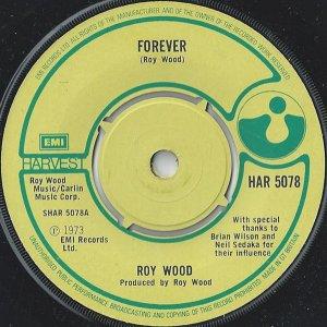 Roy Wood – Forever Жанр: Rock Стиль: Pop Rock, Glam Год: 1973