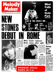 Melody Maker 14 June 1969