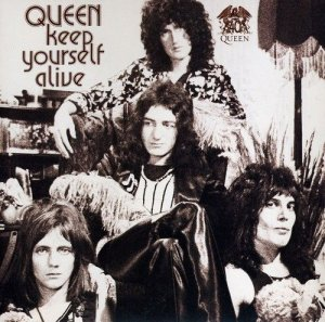 В этот день  Релиз:  6 июля 1973, Queen - Keep Yourself Alive ( UK )