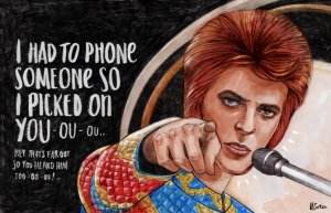 David Bowie, Top of the Pops July 6th 1972, Starman
