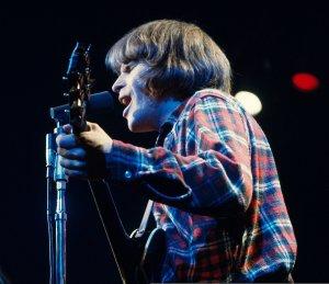 CCR at the Oakland Coliseum Arena, California, 1970.
