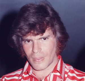John Fogerty getting interviewed in a hotel, Tokyo, February 1972.