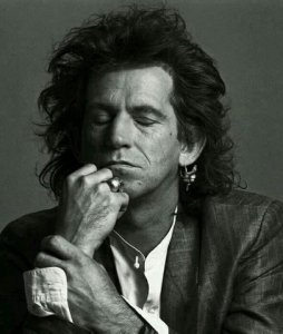 How could I stop once I start ?  Keith Richards