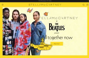 Стелла Маккартни выпустила рубашки и свитеры с изображениями участников The Beatles
