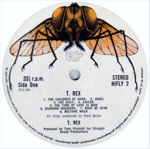1. T. Rex альбом T. Rex (1970)