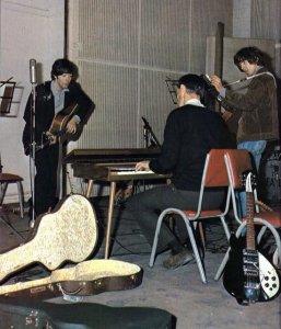 Фотографии периода записи альбома Rubber Soul