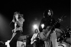 Led Zeppelin: Pictures show first concert, in 1968