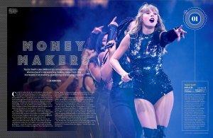 Самые богатые за этот год по версии Billboard. Учитываются данные только американского рынка.
