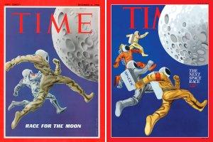 обложка приуроченного к 50-летию высадки  Time
