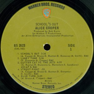 Alice Cooper – School's Out