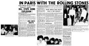 New Musical Express 1 April 1966