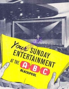 Программа выступления Beatles 11 августа 1963 в ABC театра, Блэкпул
