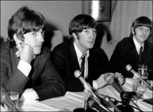 11 августа 1966 Битлз в Чикаго. Пресс-конференция.