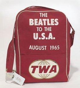 Полётная сумка по заказу авиакомпании TWA в память о полёте