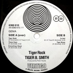 Tiger B. Smith – Tiger Rock