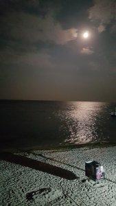 Вечером на пляже Пограничников. Вода +24. Воздух тоже +24 )