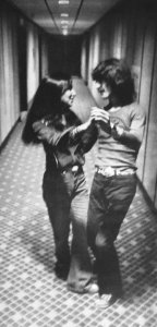 * Olivia and George... dancing